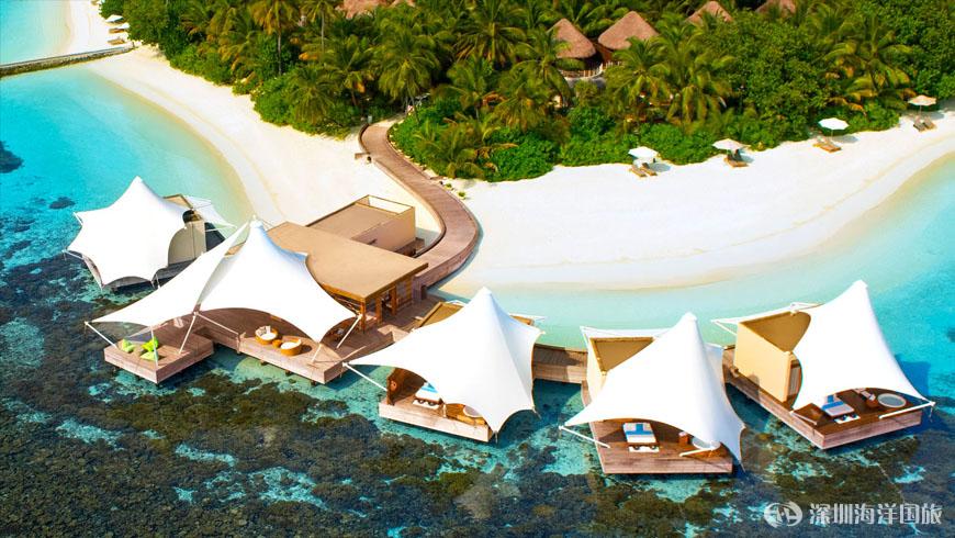 宁静岛 w retreat & spa maldives